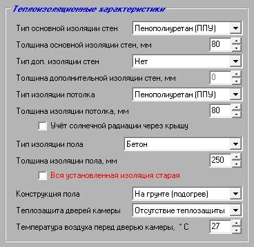 4-Теплоизоляционные характеристики ()